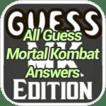 All Guess Mortal Kombat Answers