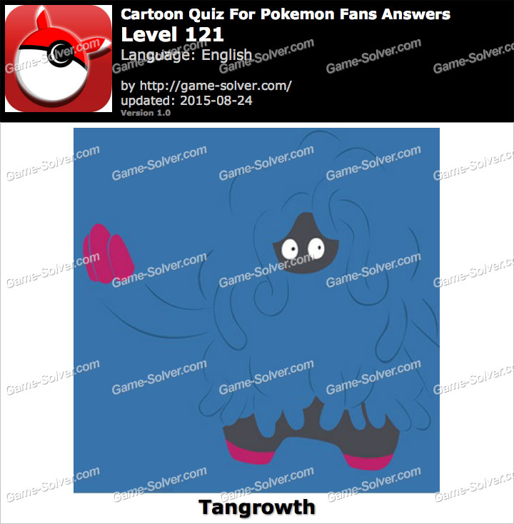 Cartoon Quiz For Pokemon Fans Level 121