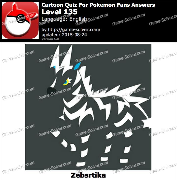 Cartoon Quiz For Pokemon Fans Level 135