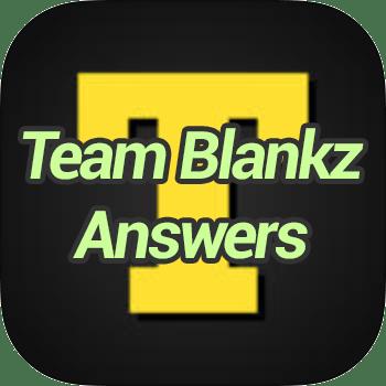 Team Blankz Answers