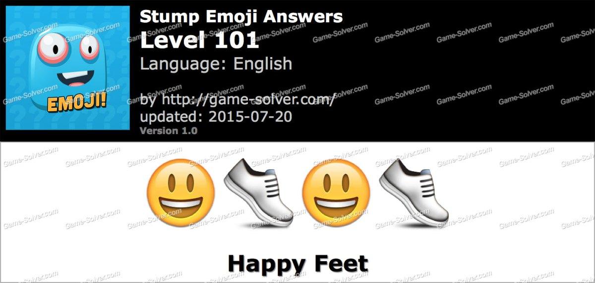 Stump Emoji Level 101
