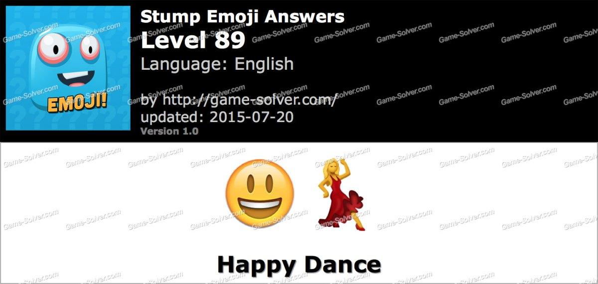 Stump Emoji Level 89