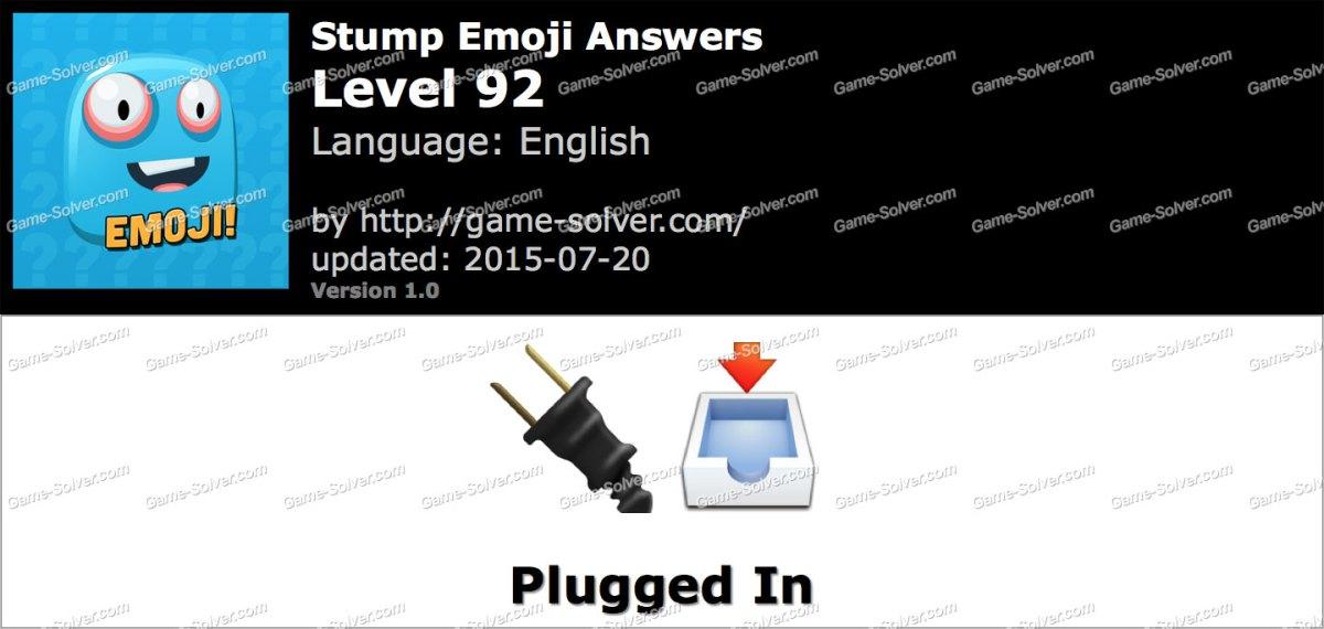 Stump Emoji Level 92