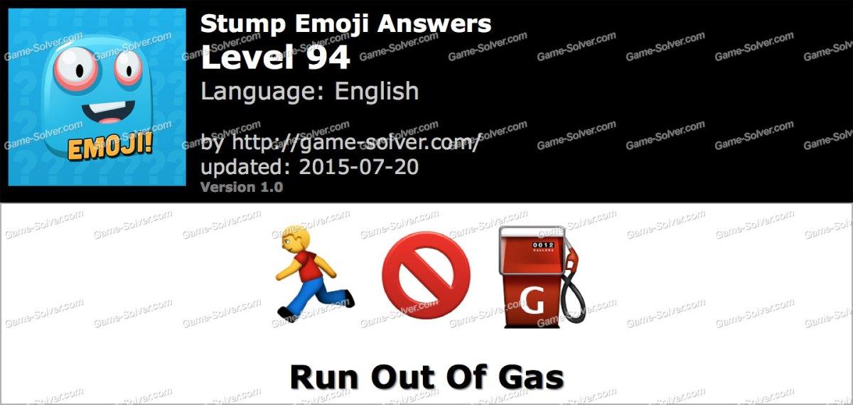 Stump Emoji Level 94
