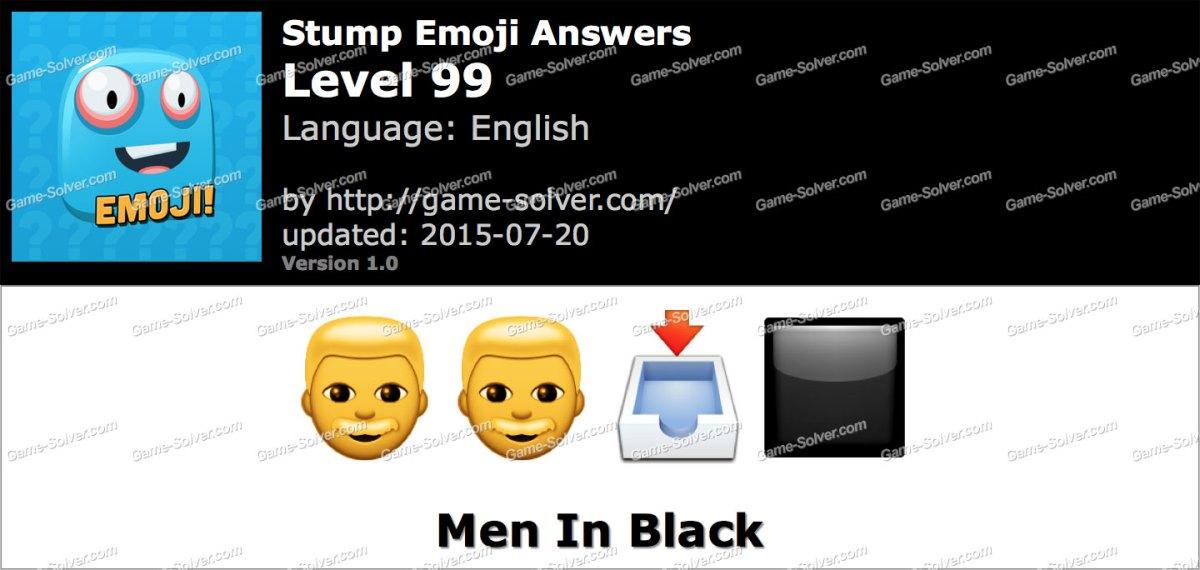 Stump Emoji Level 99
