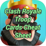 Clash Royale Troop Cards Cheat Sheet