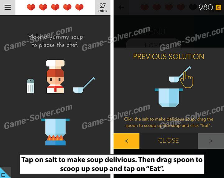 Tricky Test 2 Genius Brain Level 108 - Game Solver