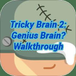 tricky test 2 genius brain walkthrough