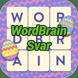 WordBrain Norsk Svar