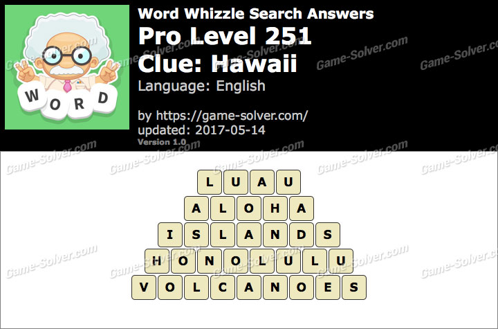 foto de Word Whizzle Search Pro Level 251 Answers - Game Solver