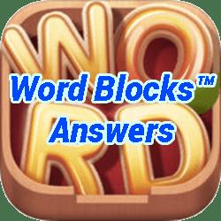Word Blocks Level 13 Answers
