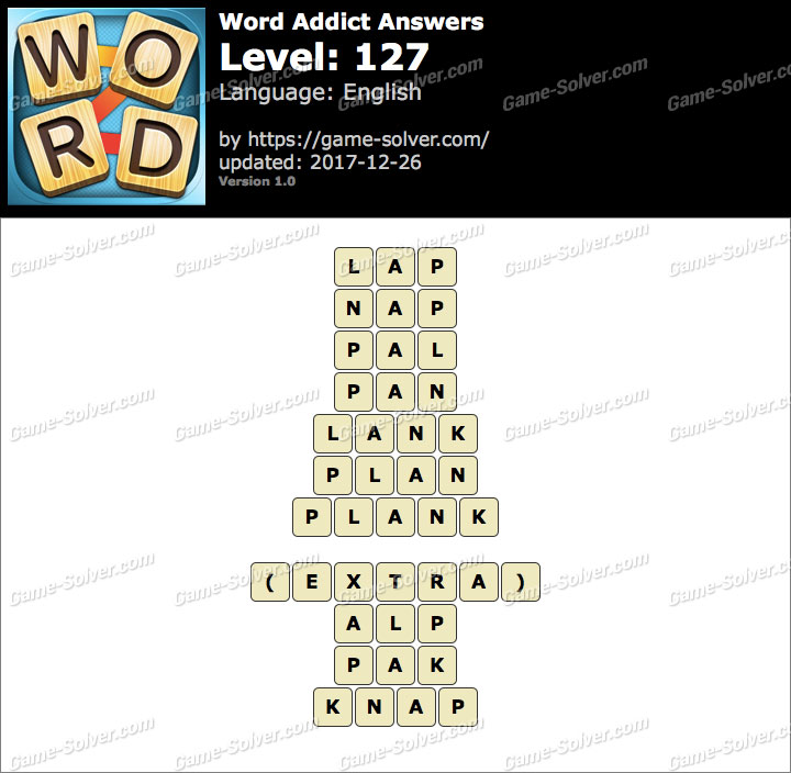 Word Addict Level 127 Answers