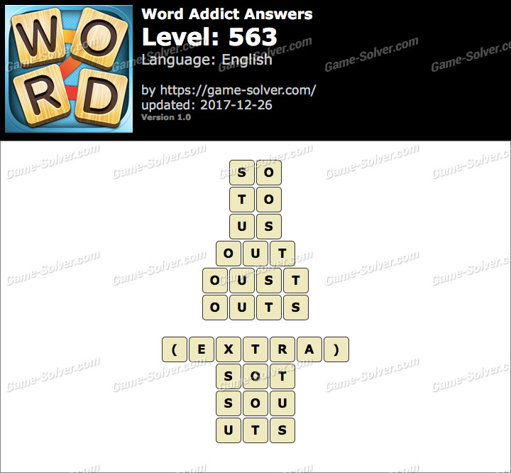 Word Addict Level 563 Answers