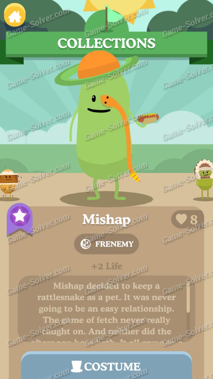 Dumb Ways To Die 3 Characters-Mishap
