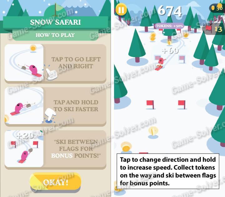 Dumb Ways To Die 3 Snow Safari Walkthrough