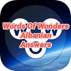 Words Of Wonders Answers Albanian