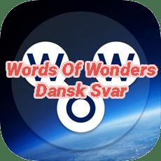 Words Of Wonders Crossword Answers Danish