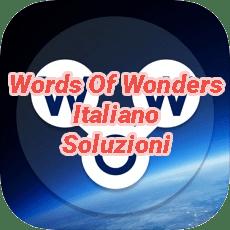 Words Of Wonders Crossword Answers Italian