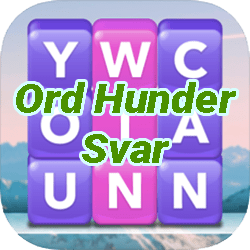 Word Heaps Norsk Svar (Ord Hunder)
