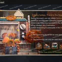 State of Survival Thanksgiving Feast Event