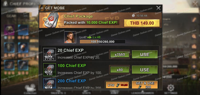 State of Survival Chief Exp Level