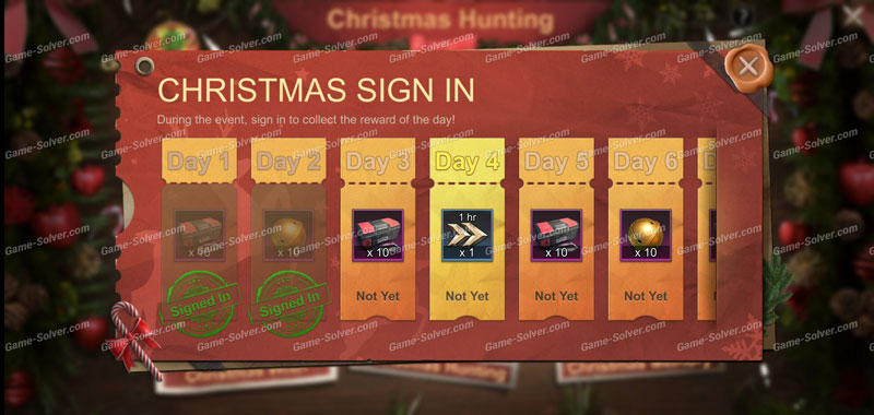 State of Survival Christmas Sign In