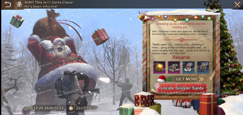 State of Survival Sinister Santa