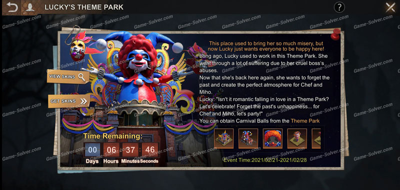 State of Survival Luckys Theme Park Event