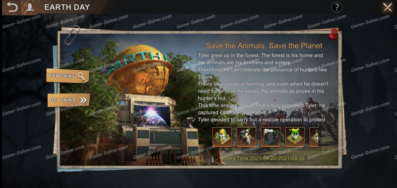 State of Survival Earth Day Event