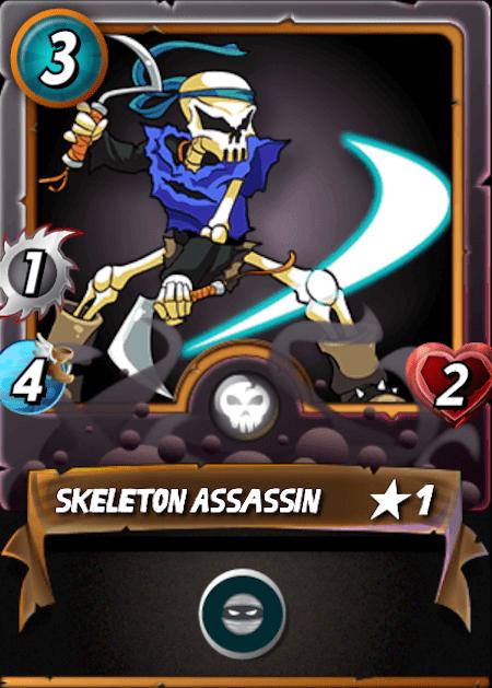 Splinterlands Skeleton Assassin