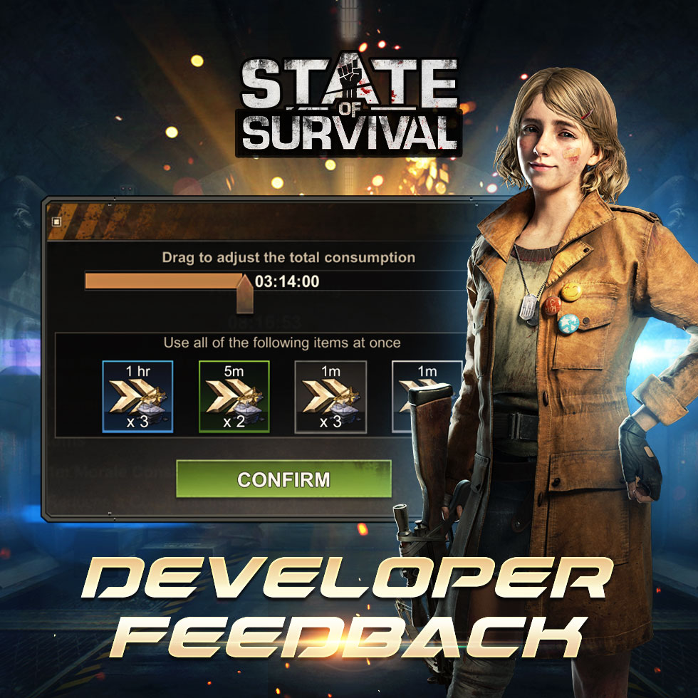 State of Survival Dev Feedback 15 10 2021