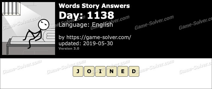 Words Story Day 1138 Answers