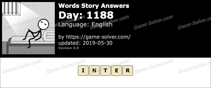 Words Story Day 1188 Answers