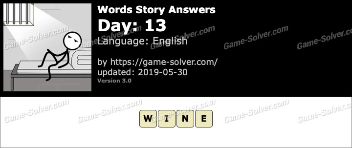 Words Story Day 13 Answers
