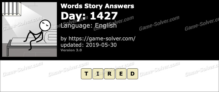 Words Story Day 1427 Answers