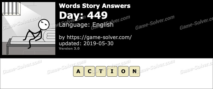 Words Story Day 449 Answers