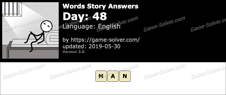 Words Story Day 48 Answers