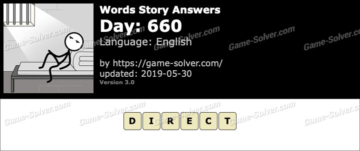 Words Story Day 660 Answers