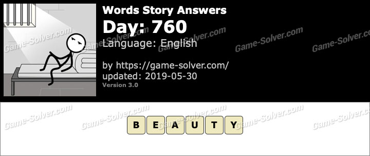 Words Story Day 760 Answers
