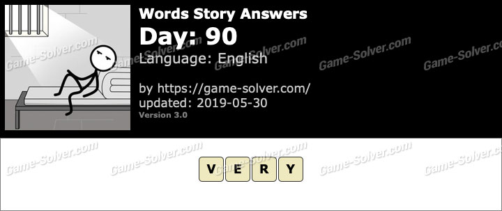 Words Story Day 90 Answers
