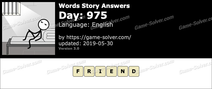 Words Story Day 975 Answers