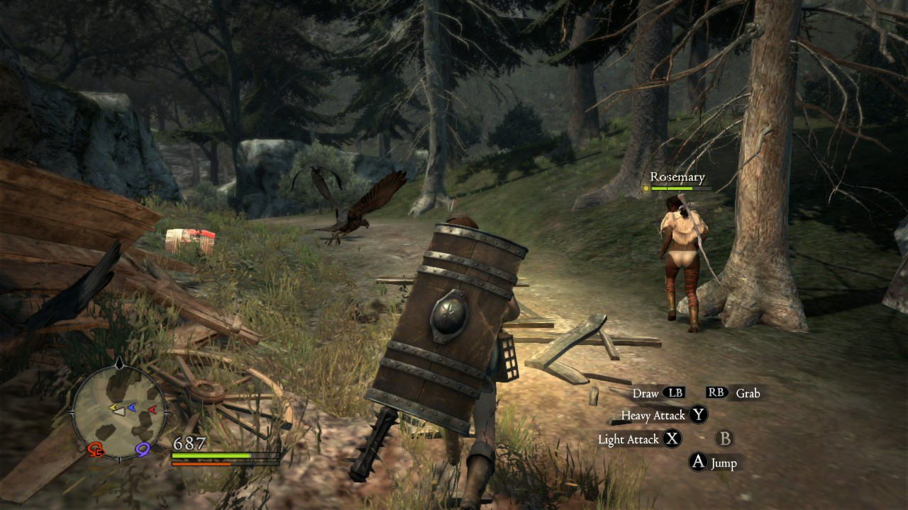 The RPG Fusion Of Dragons Dogma Game Wisdom