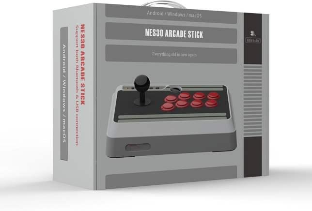 8bitdo NES30ArcadeStick 01