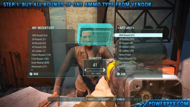 Fallout4 MoneyGlitch 01