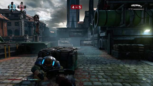 GoW4 BetaGameplay 01