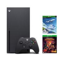 Xbox Series X 1TB + Flight Simulator + Minecraft Dungeons