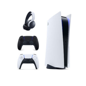 PlayStation 5 Disc Edition + Extra Controller + PS5 Pulse 3D Wireless Headset