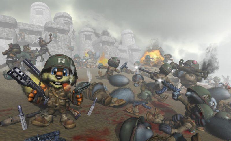 Conker's REloaded war guerre jeu meilleur jeu