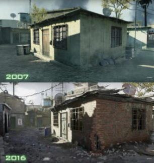 Call of Cuty Modern Warfare Remastered | Comparaison
