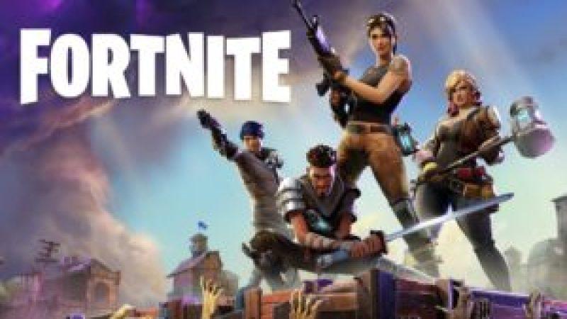 Calendrier des sorties jeux vidéo sur PS4 en Juillet 2017 Fortnite